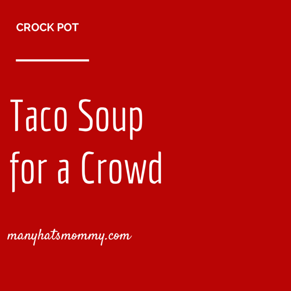 Grab this popular #soup #recipe! {manyhatsmommy.com}
