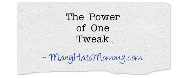 The-Power-of-One-Tweak