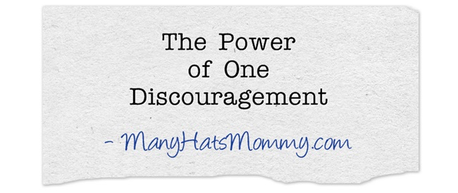 The-Power-of-One discouragement