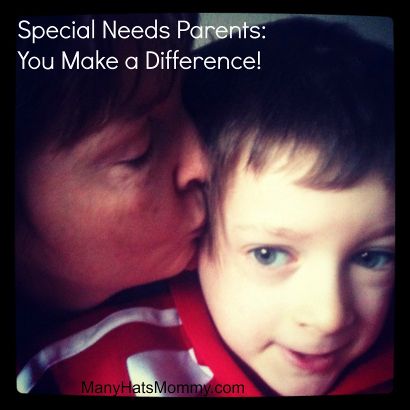 Click here to see how special needs parents make a difference!