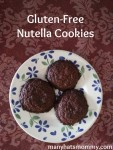 Click here for a yummy gfree Nutella cookie recipe!