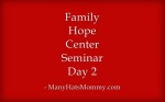 Family Hope Center Day 2 via ManyHatsMommy.com