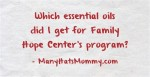 Click to see which oils I got for my #specialneeds son's therapy. via manyhatsmommy.com