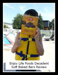 Read a review of Enjoy Life Foods' Decadent Soft Baked Bars! via manyhatsmommy.com