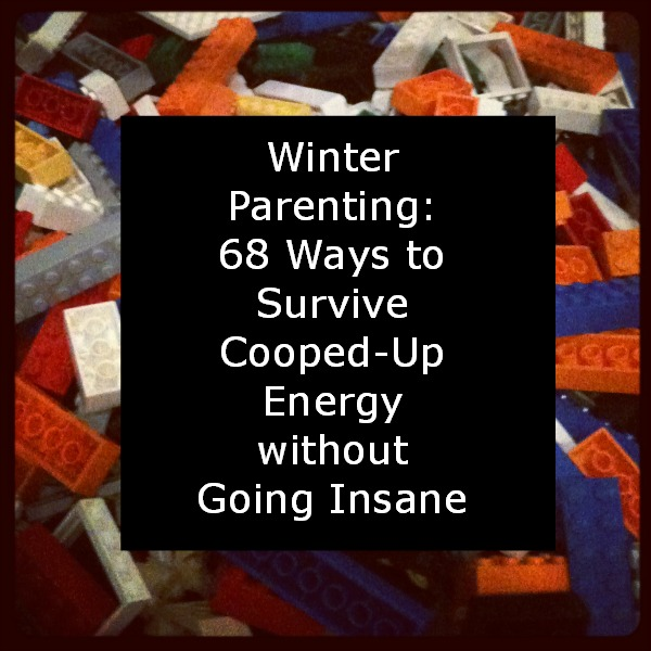 Read this long list of things to do when your kids are antsy this winter! via manyhatsmommy.com