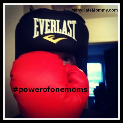 How do YOU use the Power of One? via manyhatsmommy.com