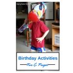Read now for fun & frugal #birthdayparty ideas! via manyhatsmommy.com
