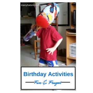 Read now for fun & frugal #birthdayparty ideas! via manyhatsmommy.com